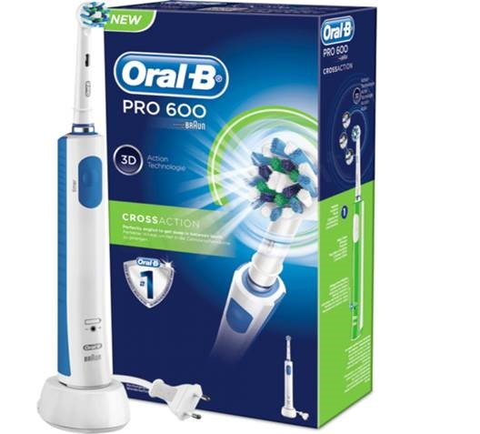 Braun Oral-B  pro 600 CROSSACTION